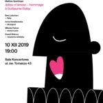plakat piesni miłosnych krakow 2019